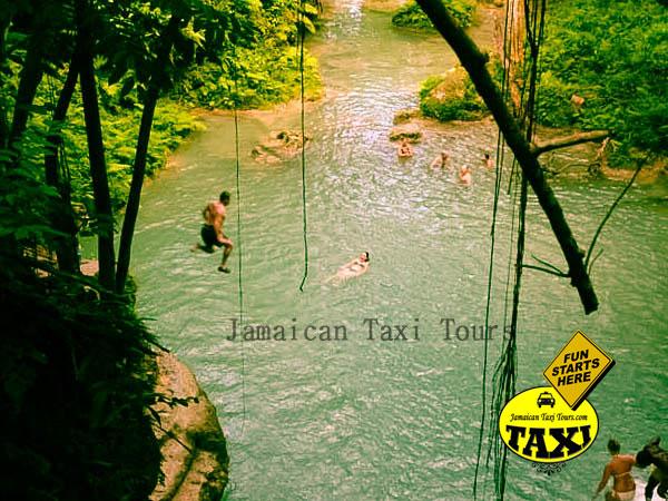 secret falls in ocho rios