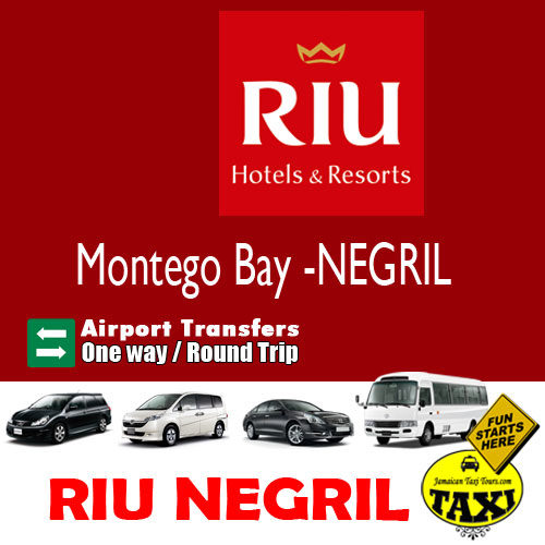 airport transfer to riu negril