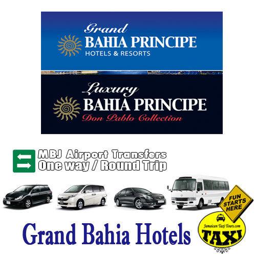 airport transfer to grand bahia