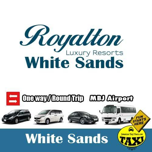 Airport taxi to Royalton White Sands