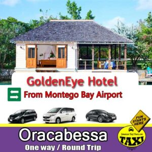 GoldenEye airport transfers