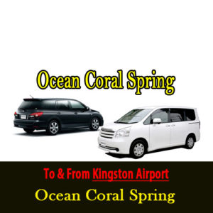 Kingston airport transfers to Ocean Coral Spring