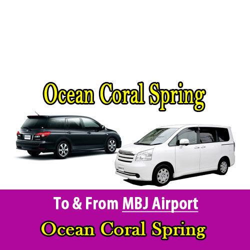 Ocean Coral Spring airport transfers
